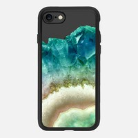 FLAWLESS CRYSTAL EMERALD by MONIKA STRIGEL iPhone 7 Hülle by Monika Strigel | Casetify
