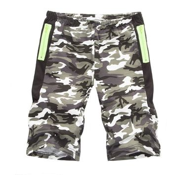 brand summer Military camouflage Casual shorts men camo cargo Straight male shorts army green Gray Red pockets short pants