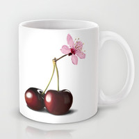 Cherry Blossom, In Memory of Mackenzie Mug by Rob Snow