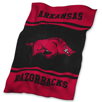 Arkansas Razorbacks NCAA UltraSoft Blanket