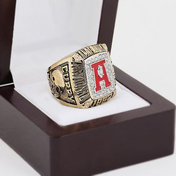 Replica 1992 Alabama Crimson Tide NCAA College Football National Championship Ring Size 10-13 W