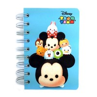 Disney Tsum Tsum Mini Hard Cover College Ruled Spiral Notebook : Mickey Mouse $3.99