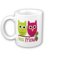 Cute Best Friends Owls Coffee Mug from Zazzle.com