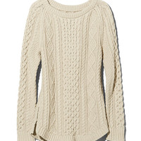 Women's Signature Cotton Fisherman Tunic Sweater | Free Shipping at L.L.Bean