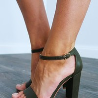 Your Everyday Heels: Olive