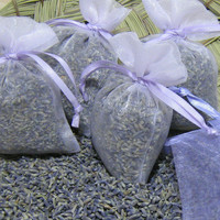 """35 ORGANIC Lavender Sachets, 3""""x4"""" AFFORDABLE Favors, BRIDAL Shower, Wedding favors, baby shower, FAsT SHIPpING (Any QtY/CoLoR Available)"""
