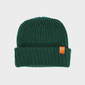 Knit Cap Forest Green