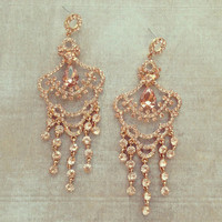 Dazzling Evening Earrings