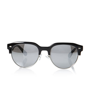 Browline Sunglasses  mirrored browline sunglasses from forever 21