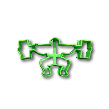 Weightlifting/weightlifter Cookie Cutter