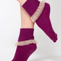 American Apparel - Girly Lace Ankle Sock