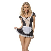 Escante EL-1241-Chamber Maid women's bedroom costume