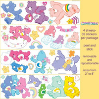 Brewster Care Bears Wall Accents