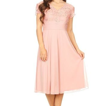 Mother of the Bride Short Formal Dress
