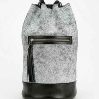 The Leather Atelier Tectonic Bucket Backpack- White One