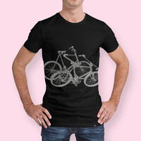 «Bike rock», Exclusive Edition Men's All Over T-Shirt by anne corr - From $44 - Curioos