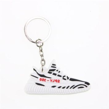 Mini Silicone YEEZY BOOST 350 V2 Shoes Keychain