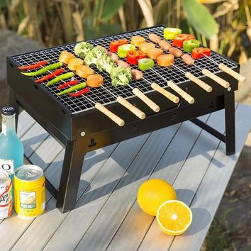 Portable Outdoor BBQ Grill Cooking Tool