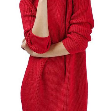 Topshop Ribbed Sweater Dress | Nordstrom
