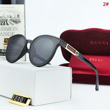 GUCCI New fashion polarized stripe couple glasses eyeglasses 2#