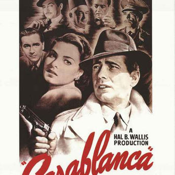 Casablanca Movie Poster 24x36