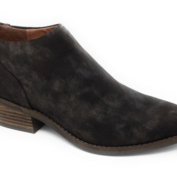 Lucky Brand Fai Bracken Suede Leather Booties