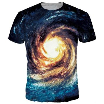 Eye Of The Galaxy Trippy T-Shirt