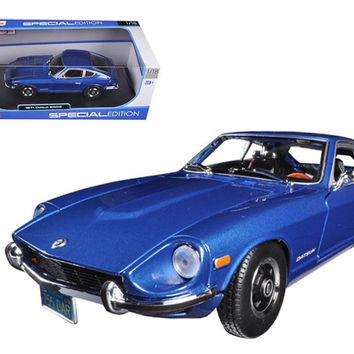 1971 Datsun 240Z Blue 1-18 Diecast Car Model by Maisto
