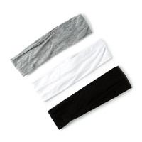 Black, White and Gray Jersey Head wraps
