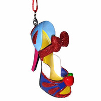 disney parks princess snow white shoe christmas ornament new with tag