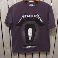 Metallica Death Magnetic T-Shirt, Size Medium