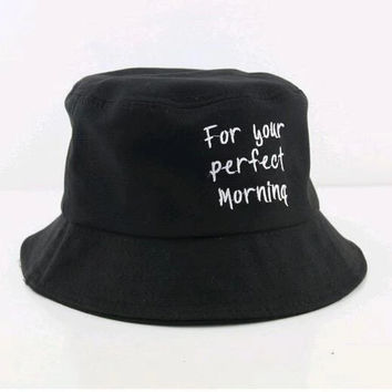 For Your Perfect Morning Bucket Hat