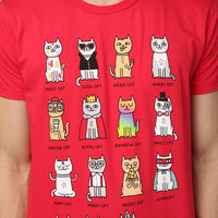 Cat Personality Tee