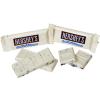 Hershey's Cookies n Creme Snack Size Candy Bars: 35-Piece Bag