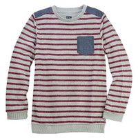 Boys' Striped Pullover Sweater