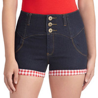 Trimmed with Whimsy Shorts | Mod Retro Vintage Shorts | ModCloth.com