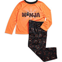 Komar Kids Two Piece Ninja Pajama Set