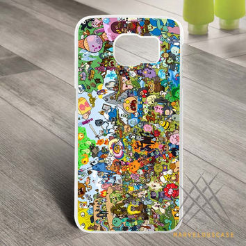 Adventure Time Inspired All Characters Custom case for Samsung Galaxy
