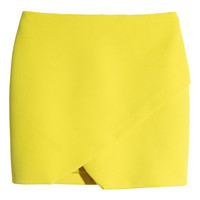 Wrap-front Skirt - from H&M