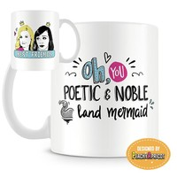 Leslie and Ann Best Friends Mug
