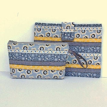 Tablet Sleeve Make Up Pouch Gift Set - New Grad Gift - All Occasion Teenager Girl Gift - Birthday Present - Modern Gift Set Of 2 Pieces