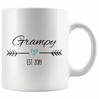 The search is over. - Grampy Est. 2019 Coffee Mug | New Grampy Gift
