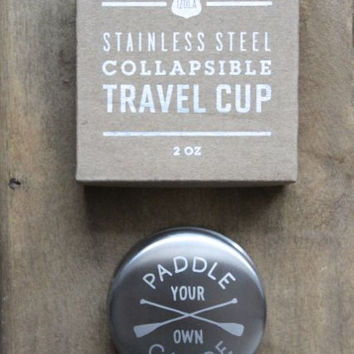 Paddle Your Own Canoe Travel Cup