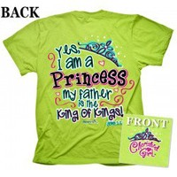 Cherished Girl Yes I Am A Princess Christian T-Shirt