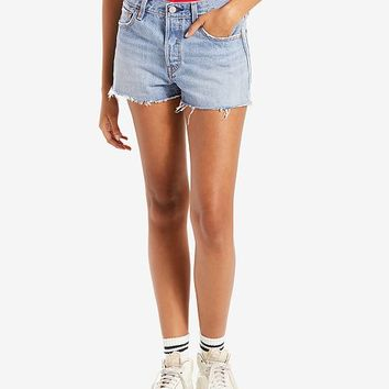 Levi's 501® Cotton High-Rise Denim Shorts Juniors - Shorts - Macy's