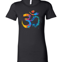 Paint Splattered Om Women's Tee