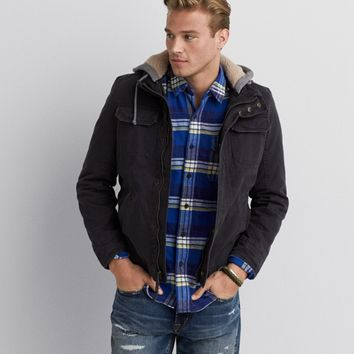 AEO HOODED WORKWEAR JACKET