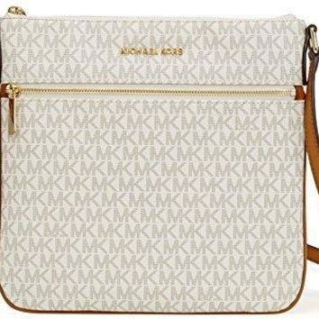 Michael Michael Kors Bedford Signature Flat Cross Body Bag