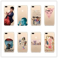 Stranger Things Christmas Lights  Soft silicone TPU Case For Apple iPhone 5 5s 6 6plus 7 7plus  cover