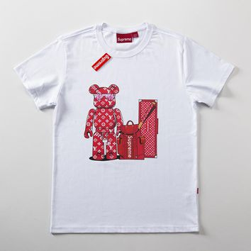 Cheap Women's and men's supreme t shirt for sale 501965868-0150